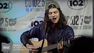 "BØRNS ""Fool Acoustic"" LIVE in the CD102.5 Big Room"
