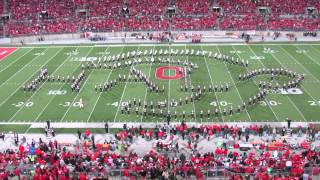 Ohio State Marching Band Video Game Halftime Show in HD -without Script Ohio 10/6/2012(The Band receives YouTube ad revenue for all views on the mbandfan2 Channel, so pass on the link to your friends and fellow TBDBITL fans! The Ohio State ..., 2013-05-23T19:36:08.000Z)