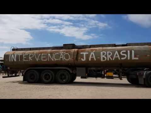 GREVE CAMINHONEIROS IMBITUBA INTERVENÇÃO MILITAR JÁ