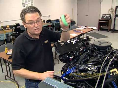 How To Tune Up a MerCruiser MPI Sterndrive - PowerBoat TV - YouTube