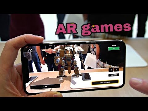 TOP 4 BEST HD FREE AR GAMES FOR ANDROID AND IOS 2018