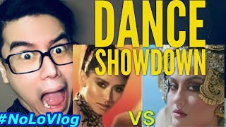 AGNEZ MO VS SARAH G | DANCE SHOWDOWN | Live Reaksi | NoLo Vlog
