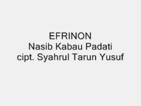EFRINON - NASIB KABAU PADATI