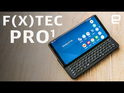 F(x)Tec Pro1 Hands-on: A full-keyboard flagship at MWC 2019