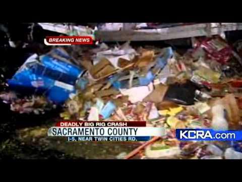 Big Rig Driver Killed In South Sacramento Crash