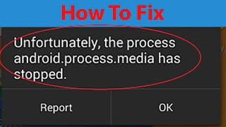 видео ошибка android process media