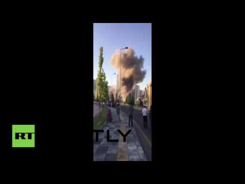 Turkey: Ankara's presidential palace bombed during attempted coup