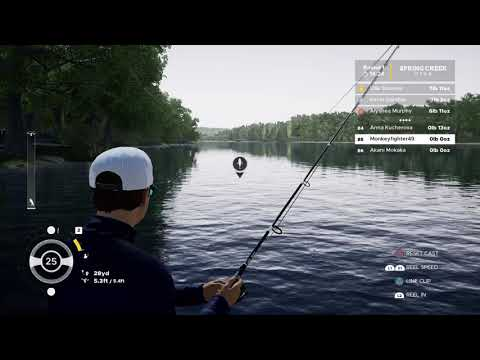 Fishing for spotted bass fishing sim pro tour  