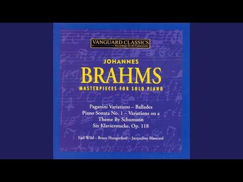 Six Klavierstucke, Op. 118, V. Romanze in F Major