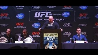 UFC 189 World Tour New York Press Conference