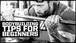 6 BODYBUILDING TIPS FOR BEGINNERS
