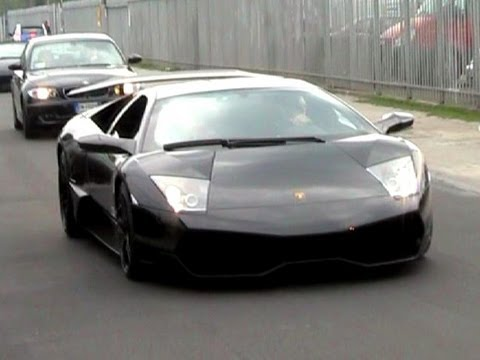 All Black Lamborghini Murcielago Lp670 4 Sv Sound Youtube