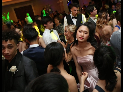Watch scenes from the dance floor at Staten Island Academy's Geranium Ball