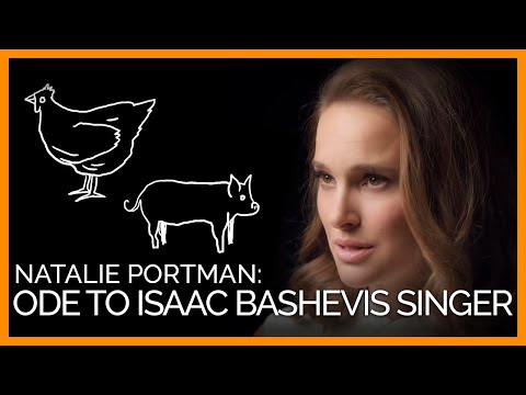 Natalie Portman's Ode to Isaac Bashevis Singer