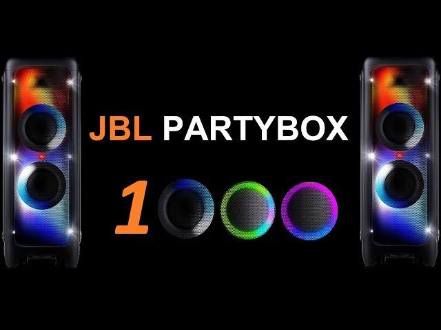 JBL Partybox 1000 // Sound & Bass