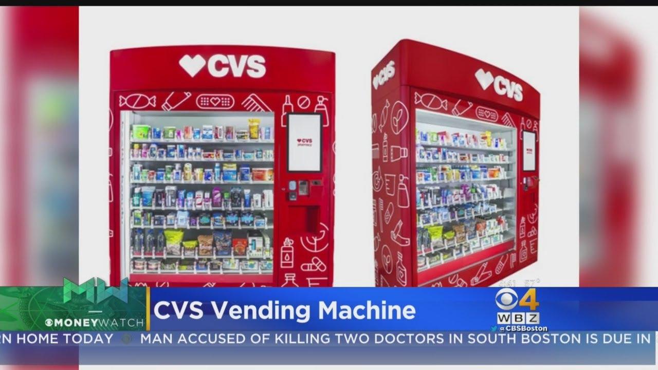 CVS Introduces Vending Machines