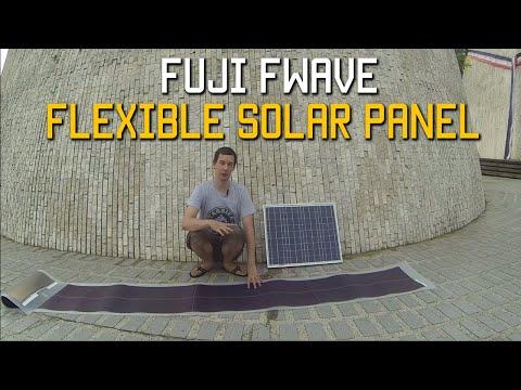 Fuji Fwave Flexible Solar Panel