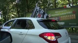 Beşiktaş Dolmabahçe'ye Doğru Yola çıktı