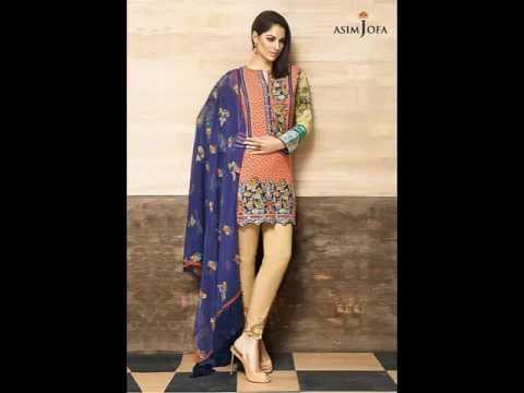 0846d283f8 Asim Jofa Fancy 3 Piece Luxury Shawl Winter Collection 2016 17 - YouTube