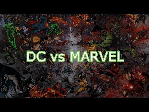 DC Vs Marvel - Cosplay Comedy Show (8-25-2017)