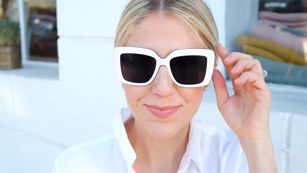 f2d84a550c Spring Fashion with Lindsay Albanese - Bright White Glasses. Zenni Optical