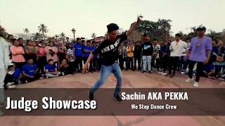 Hip-Hop Freestyle | Class - Sikh Mauth | Sachin Aka Pekka | We Step Dance Crew