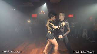 IRVING & MARTHA (Ferocity Dance Company) Bachata Dance Performance @ THE SALSA ROOM
