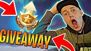 🔴 I GIVE YOU BATTLE PASSOVE WITH THE SKRILET FOR THE NEW SEASON IN FORTNITE * BATTLE PASS GIVEAWAY *