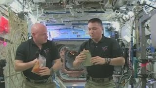 Freeze-dried turkey: Astronauts celebrate thanksgiving on International Space Station