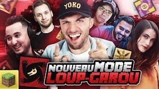 UN NOUVEAU MODE LOUP-GAROU ! 🐺 (Minecraft Loup-Garou ft. Locklear, Doigby, Maghla, Gotaga, Mickalow)