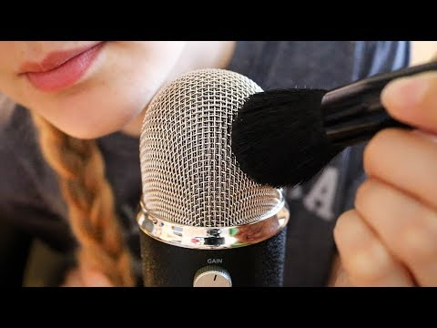 ASMR Blue Yeti Whisper: Do My Parents Know about My Videos? (+Mic Brushing)