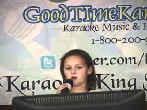 Karaoke King Show Live Allie Sue