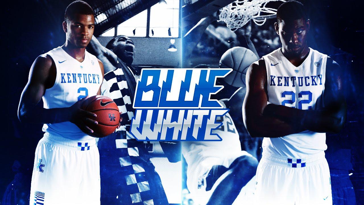 Kentucky Basketball Highlights And Box Score From Historic: Kentucky Wildcats TV: Men's Basketball Blue/White