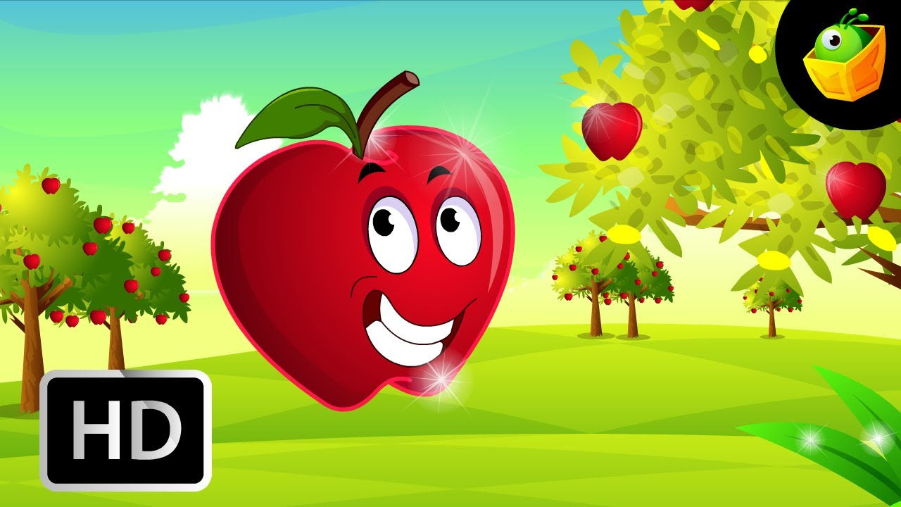 Free Animated Falling Leaves Wallpaper If I Were An Apple English Nursery Rhymes Cartoon
