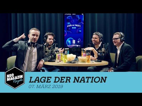 Lage der Nation zu Gast im Neo Magazin Royale mit Jan Böhmermann - ZDFneo