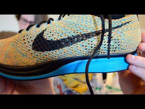Nike Flyknit Racer Sherbet (eBay steal) - TLUS shoe review