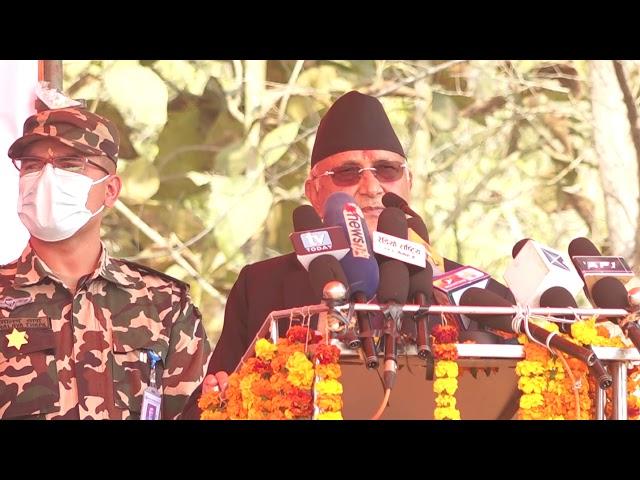 कञ्चनपुरमा पट्कीए प्रधानमन्त्री ओली,बोल्दै नबोलेको कुरा झिकेको आरोप #ournewscrew #कञ्चनपुर
