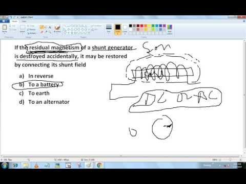 DC Generator !! Important MCQ Questions !!