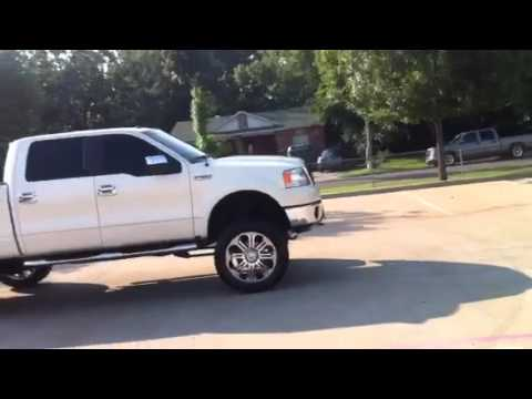 "F150 Limo >> 2007 ford f150 lariat 4x4 9"" lift - YouTube"