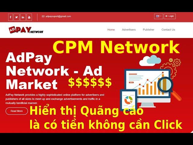 [Sinh MMO Official] Mạng quảng cáo CPM hiển thị quảng cáo của Google Adsense