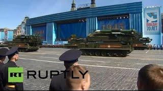 Прямая трансляция генеральной репетиции парада в честь 70-летия победы в Великой Отечественной войне
