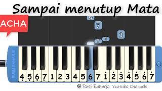 Download lagu Sampai menutup mata not pianika