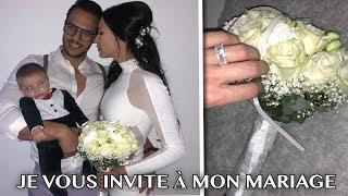 JE VOUS INVITE A MON MARIAGE.