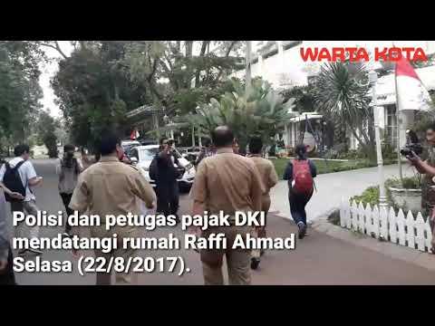 Begini Video Suasana Penagihan Pajak di Rumah Raffi Ahmad