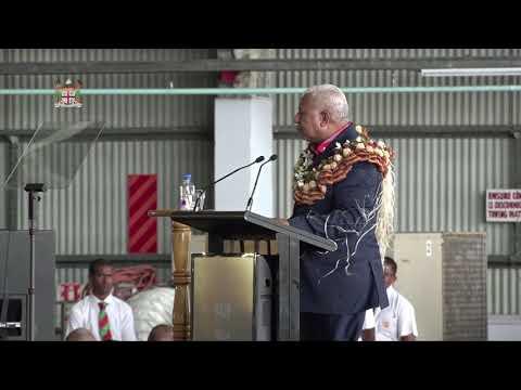 "Fijian Prime Minister Hon. Voreqe Bainimarama Welcomes ""Island Of Viti Levu"""