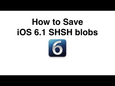 iOS 6 1 3 Release Coming: Save iOS 6 1 2 SHSH Blobs With