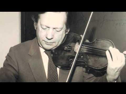 Valse triste [Vecsey, Franz von] - Arthur Grumiaux, violinist