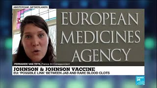 EU agency links J&J shot to rare blood clots, says odds favor use