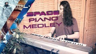 7 Famous Space Movies Soundtracks on Piano.