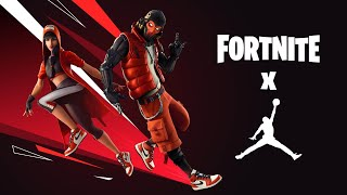 FORTNITE X AIR JORDAN SKINS ARE HERE NEW MICHAEL JORDAN SKINS IN FORTNITE AIR JORDAN CHALLENGES LTM!